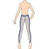 Ref. 305 - Molde de Calça Legging Fitness