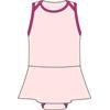 Ref. 326 - Molde de Body Bebê Menina (com saia)